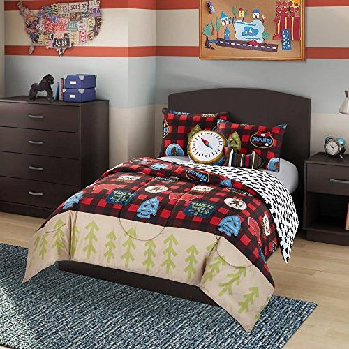 Better Homes and Gardens Kids Plaid Scout Camping