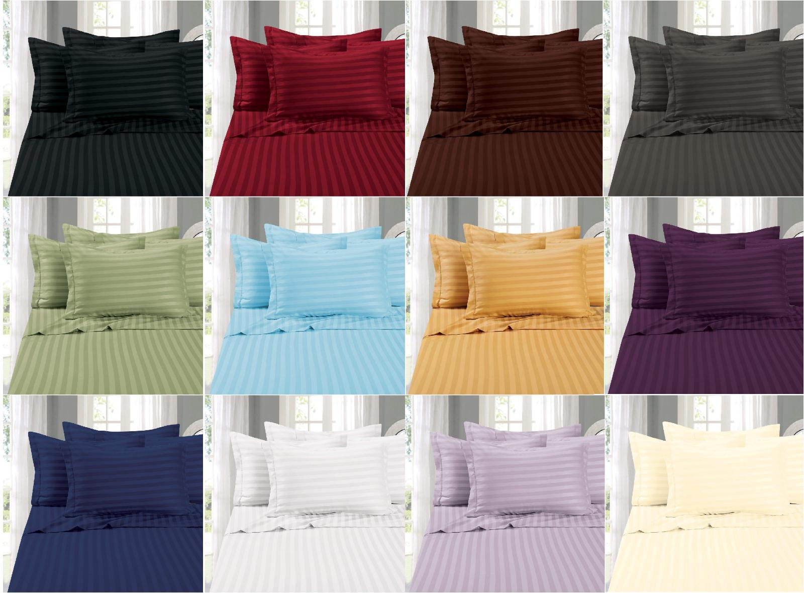 """Luxurious Resistant 1500 Thread Bed Sheet 16"""""""