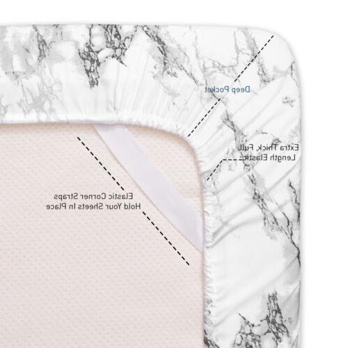Sweet Collection Luxury Marble Print Sheet