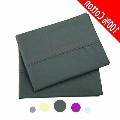 luxury pillowcases 2 pack 100 percent quality