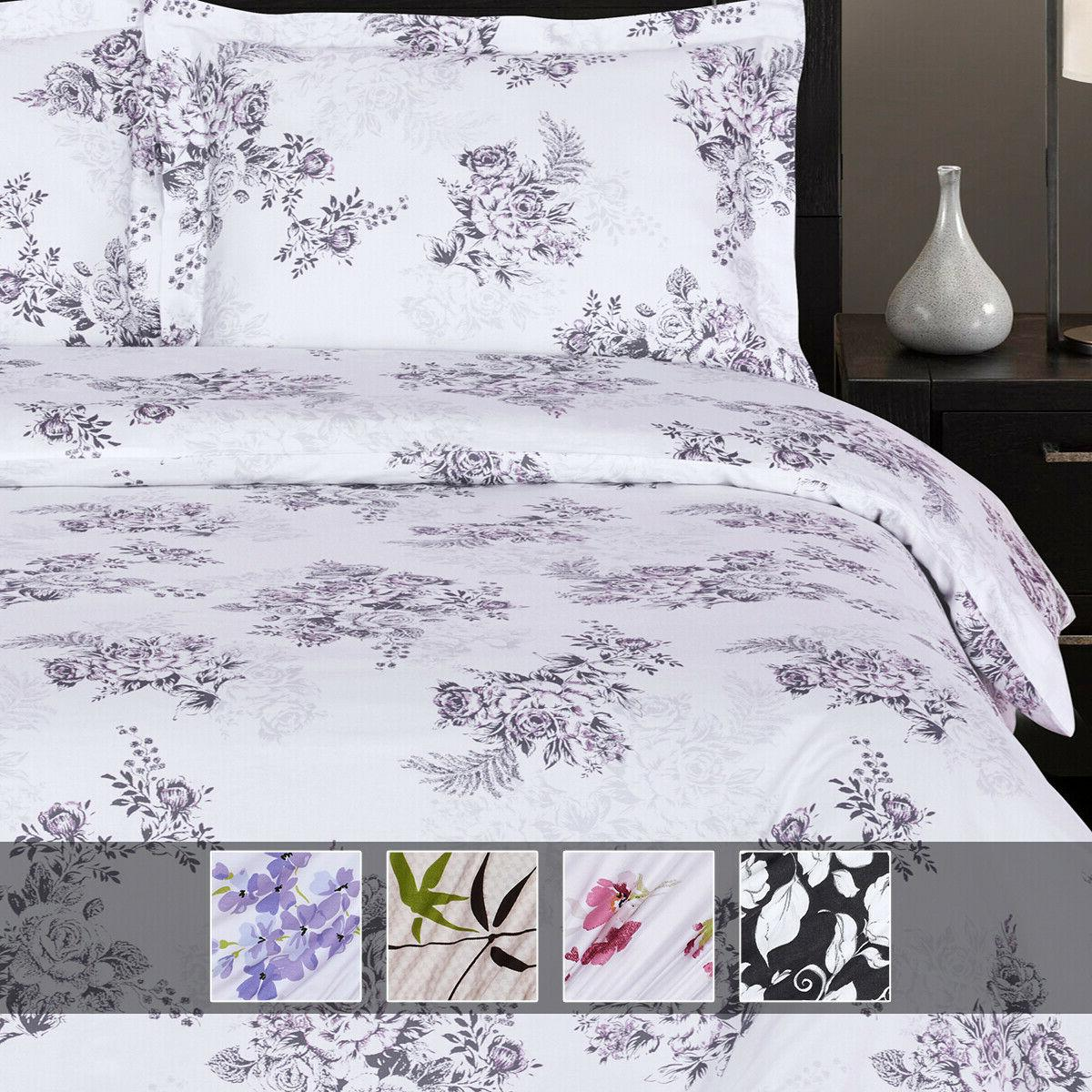 luxury printed sheets 100 percent cotton deep