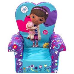 Marshmallow Girls High Back Chair - Disney Doc McStuffins