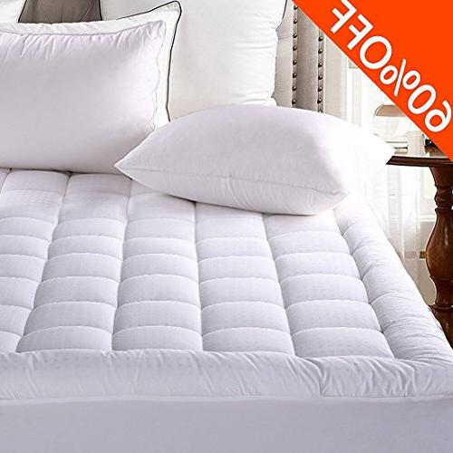 fitted quilted mattress pad cover