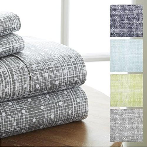 merit linens ultra soft polka