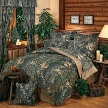 Mossy Oak New Break Up Camouflage Queen 13 Pc Bedding Set  -