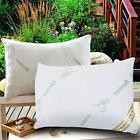 2 Pack Polyester Bamboo Bed Sleeping Pillows Queen Size Cool