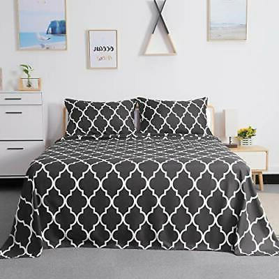 HOMEIDEAS Printed Sheets Extra Soft