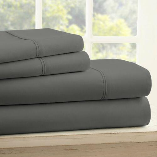 queen 4pcs bed sheets set egyptian cotton