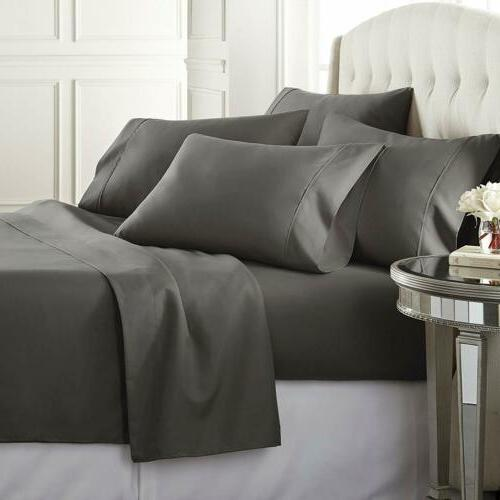 Queen Bed Set Egyptian Cotton Thread Soft Ins