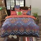 Queen Duvet Cover Set Hippie Bohemian Exotic Comforter Light