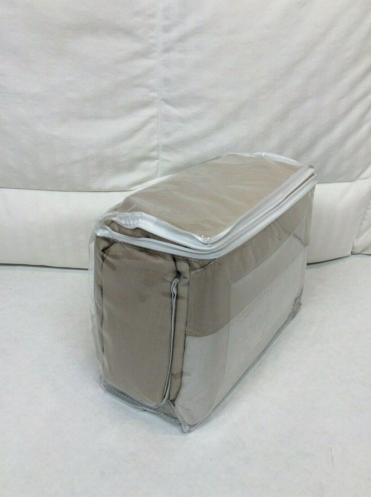 Queen Home Reversible 700TC w/ Taupe