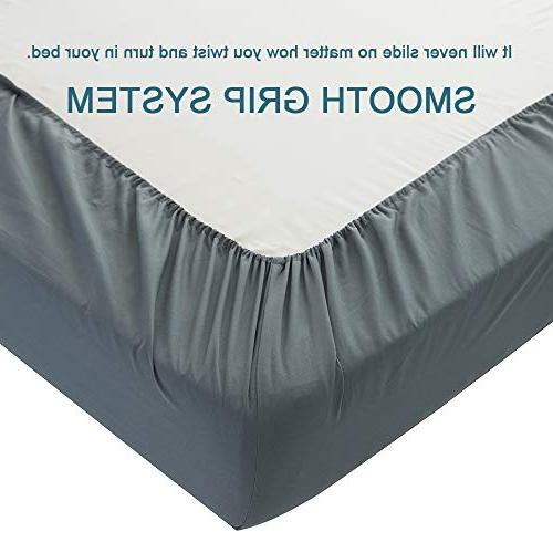 Shilucheng Sheets Set Microfiber Thread Count Percale Soft and Comforterble| Inch Wrinkle and - Piece