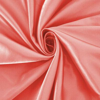 Satin Silk Fitted Sheet Ultra Smooth Comfy