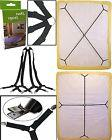 Sheet Bed Suspenders Adjustable Crisscross Fitted Sheet Band