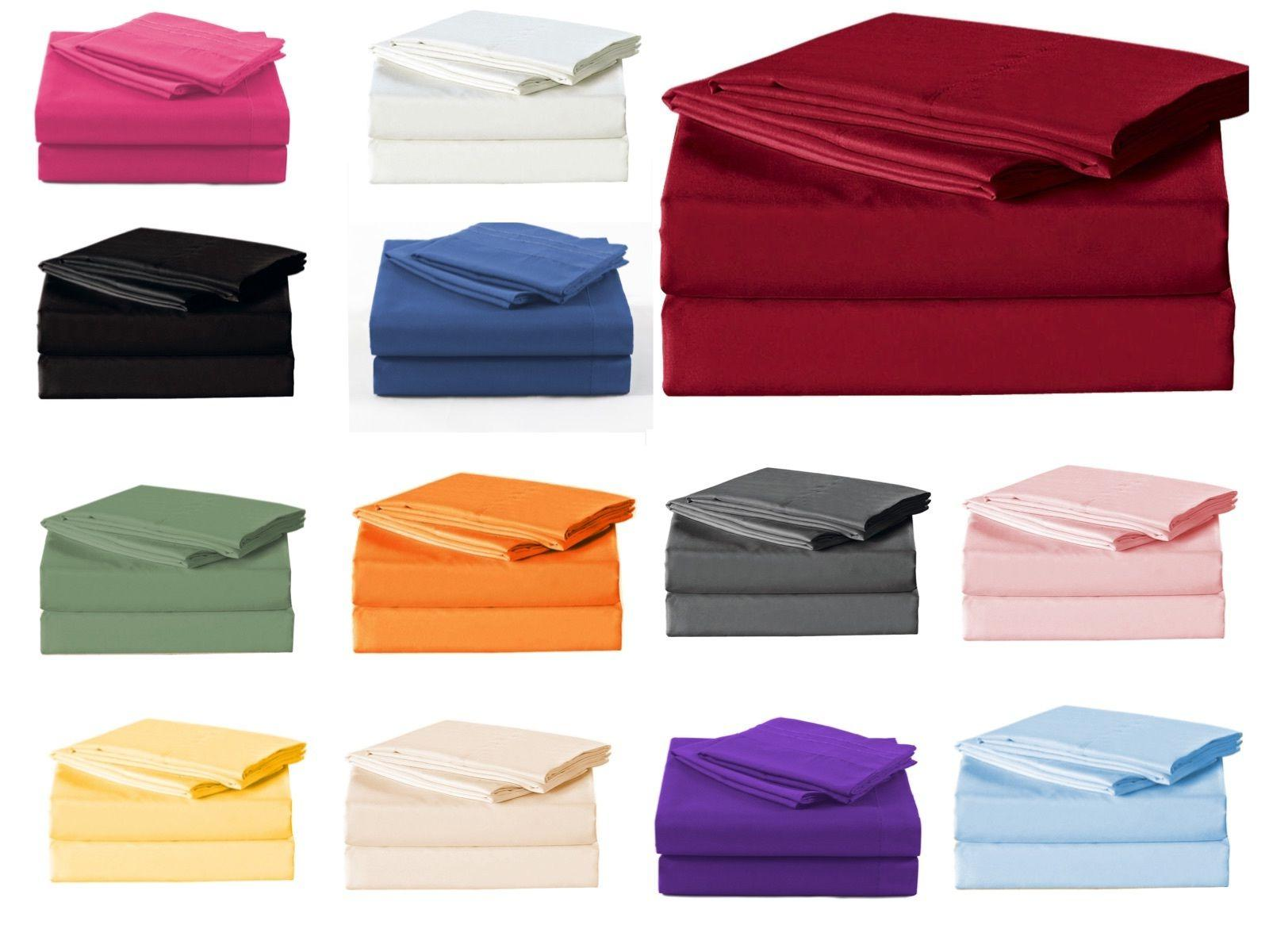 Soft Sheets 3/4 Piece Bedding Full