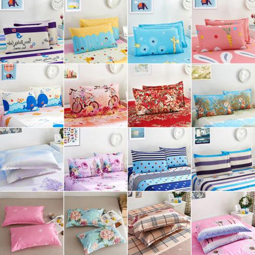 Soft Bed Set w/Pillowcase Cover Floral Size