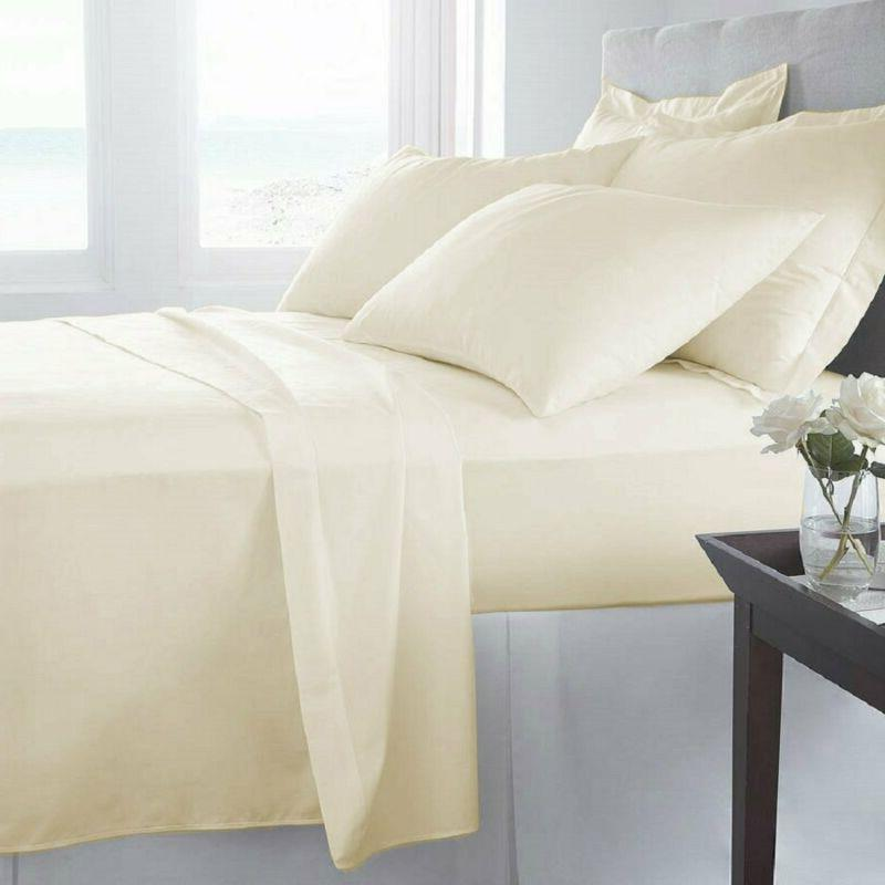 Luxury Home Series Bed Sheets (King, Cr