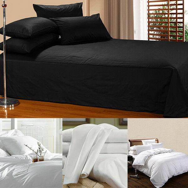 4PCS Sheets Black Color