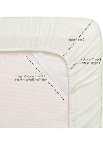 Sweet 1500 Collection Soft Sheets Set Bed