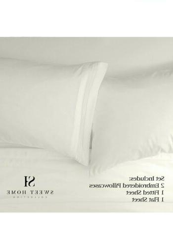 Sweet Home Supreme Collection Extra Soft Sheets Bed