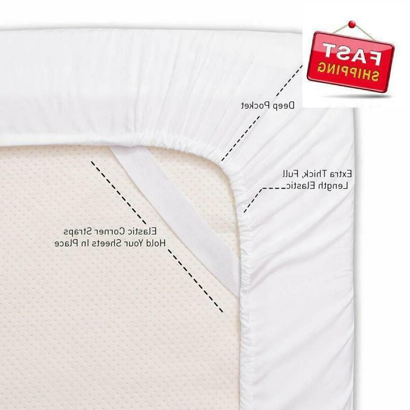 Sweet Home Collection Sheet 4-Pieces, White