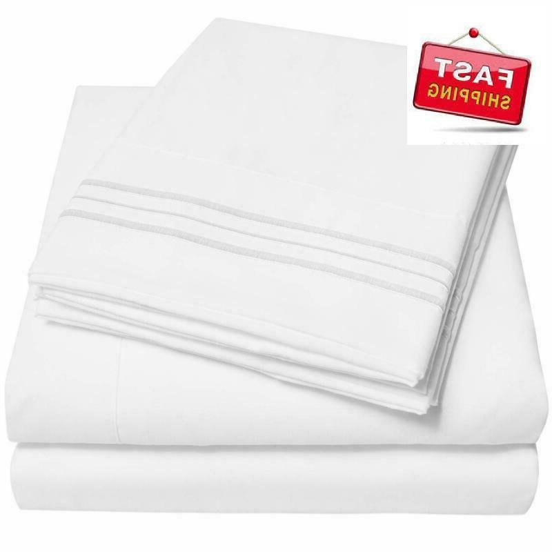 sweet home collection bed sheet set 4