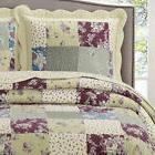 Tania Full / Queen Oversized Coverlet 3 PC Set Luxury Microf
