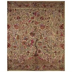 Tree of Life Tapestry Cotton Bedspread 108 x 88 Full-Queen B