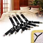 4X Triangle Bed Mattress Sheet Clips Grippers Straps Suspend