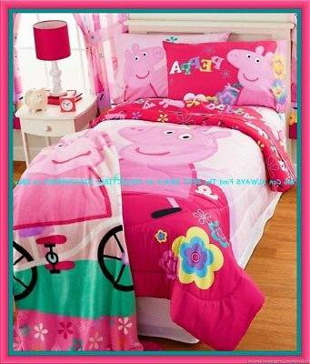 Peppa Pig Twin Bedding Bed In A Bag