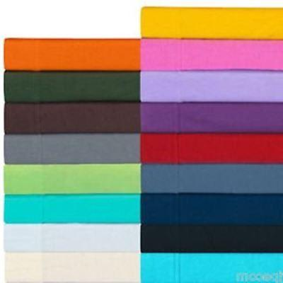Twin Extra Long Fitted Sheet Only - Soft & Comfy 100% Cotton
