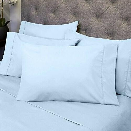 Sweet Home Collection Size Bed Sheets - 4 1500 Count Brus
