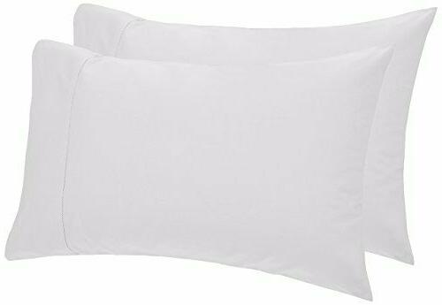 Two Pinzon 400-Thread-Count Egyptian Cotton Pillowcases Stan