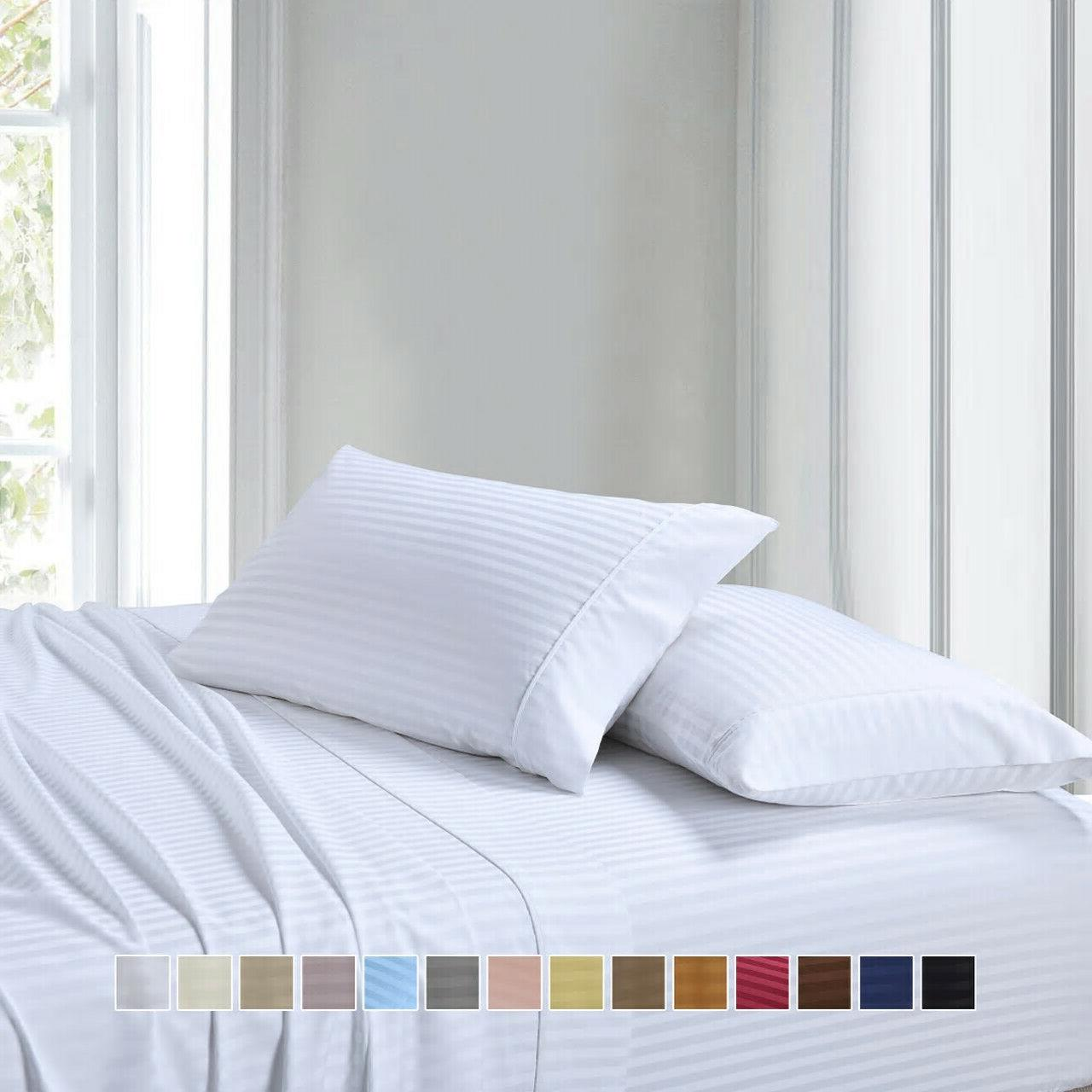 Luxury Ultra Soft Cotton Deep Pocket Sheet Set