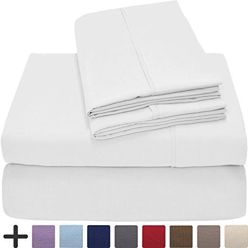Premium Ultra-Soft Collection King Hypoallergenic, Resistant, Pocket