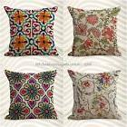 US Seller-set of 4 throw pillow case for sofa cushion covers