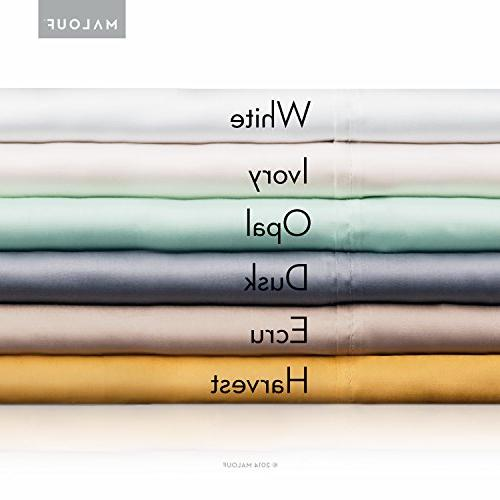 woven Sheet - Silky and Eco-Friendly Sheets - 4pc