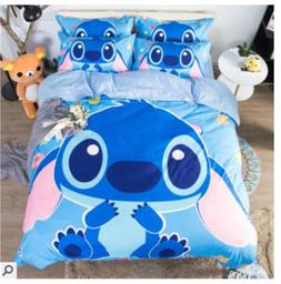 Laughing Stitch Bedding set Child Stitching Sheets Quilt Cov