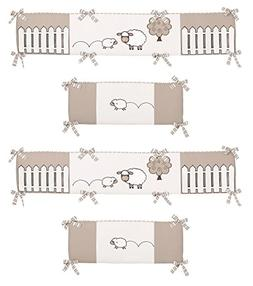 Little Lamb Collection Crib Bumper by Sweet Jojo Designs