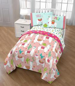 Llama Bedding Sets For Girls Twin Size Southwestern Comforte