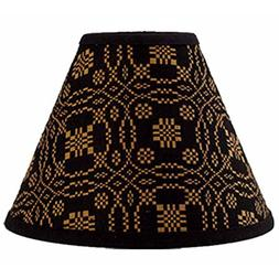 Home Collection by Raghu Lover's Knot Jacquard Black and Mus