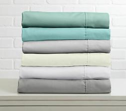 Luxurious Silky Bamboo Bed Sheets 4-Piece Hotel Quality by H
