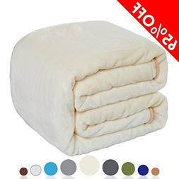 Balichun Luxury 330 GSM Fleece Blanket Super Soft Warm Fuzzy