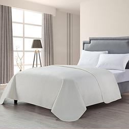HollyHOME Luxury Checkered Super Soft Solid Single Pinsonic