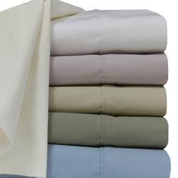 Luxury Collection 100% Cotton Percale Sheet Set Deep Pocket