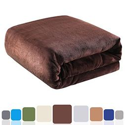 Balichun Luxury Fleece Blanket Super Soft Warm Lightweight B