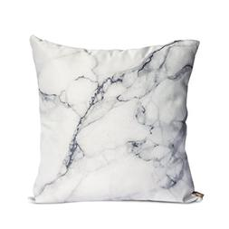 Ojia Luxury Home Decorative Soft Silky Satin Marble Texture