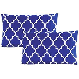 Mellanni Luxury Pillowcase Set Brushed Microfiber Printed Be