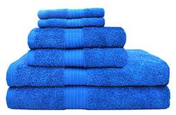 Tex Trend Luxury Soft 6 Piece Towel Set  - 100% Egyptian Cot