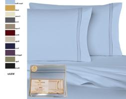 Luxury Supreme 6 PC Sheet Set Sizes Full Queen King Assorted